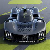Peugeot dévoile son hypercar, la 9X8, pour les 24 Heures du Mans