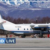 Russie : des débris de l'avion disparu en Extrême-Orient retrouvés