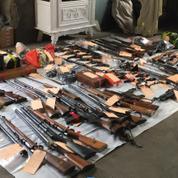 1200 armes saisies en régions parisienne et lyonnaise