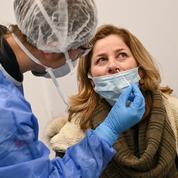 Covid: plus de 100 millions de tests en France depuis le début de l'épidémie