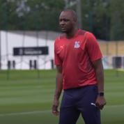 Le premier entraînement de Patrick Vieira à Crystal Palace