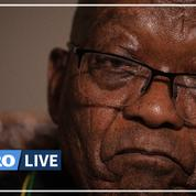 L'ex président sud-africain Jacob Zuma se constitue prisonnier