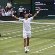 Wimbledon : Djokovic, plus que jamais sur la route des vingt