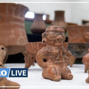 Le Costa Rica récupère 1305 pièces précolombiennes en provenance des États-Unis