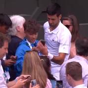 Le joli cadeau de Djokovic à un enfant après son triomphe à Wimbledon