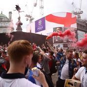 Euro : la finale entre l'Italie et l'Angleterre en images