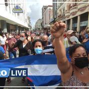 À Cuba, la colère éclate dans les rues