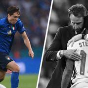 Tops/Flops Italie-Angleterre : Federico Chiesa a brillé, Raheem Sterling s'est éteint
