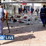 Quatrième jour de violences en Afrique du Sud, les pillages s'étendent