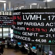 La Bourse de Paris ouvre dans le rouge
