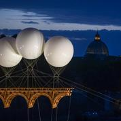 À Rome, le rêve de Michel-Ange réalisé avec un pont éphémère sur le Tibre