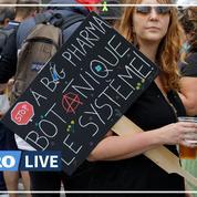 Covid-19 : des milliers de personnes dans la rue contre le pass sanitaire