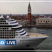 Venise: les grands navires de croisière bannis du centre dès août