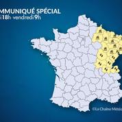 Météo : vers un retour à la normale dans l'Est de la France