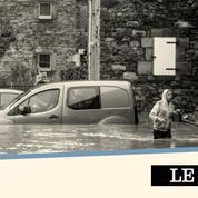 Inondations: la Wallonie vit un enfer sous l'eau