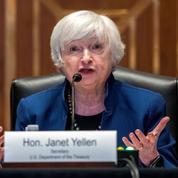 Yellen «pas certaine» qu'Amazon sera soumis à l'ensemble de la future taxe des multinationales