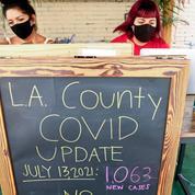Covid-19 : vacciné ou non, le masque de nouveau obligatoire en intérieur à Los Angeles