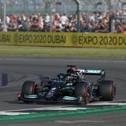 Formule 1: Hamilton meilleur temps des qualifications à Silverstone