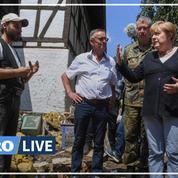 Inondations : Merkel, choquée par les dégâts «surréalistes», promet de reconstruire