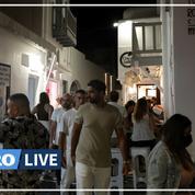 Grèce : un couvre-feu instauré à Mykonos, l'île de la fête