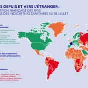 Pays classés en vert, orange ou rouge : ce que cela change pour les voyageurs