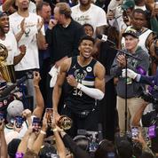 Milwaukee sacré champion NBA 50 ans après, Antetokounmpo MVP