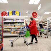 Épidémie de cas contacts au Royaume-Uni: les distributeurs tirent la sonnette d'alarme