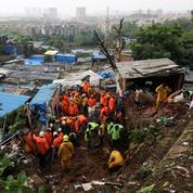 Inde: 44 morts lors d'un glissement de terrain, des dizaines de disparus