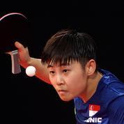 JO : pourquoi les raquettes de tennis de table sont toujours de couleur rouge et noire