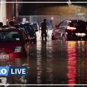 La Belgique de nouveau frappée par des inondations après de violents orages