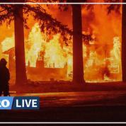 L'Ouest américain dans la crainte de nouveaux incendies