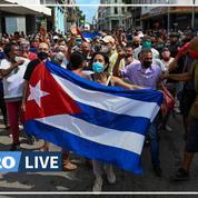 Près de 60 Cubains poursuivis après les manifestations du 11 juillet