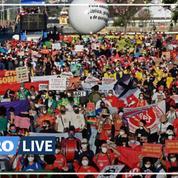 Covid-19 : des dizaines de milliers de Brésiliens réclament la destitution de Bolsonaro