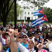 Des centaines de manifestants à Washington demandent «la liberté pour Cuba»