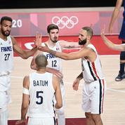 JO : pour les basketteurs français, gare au lendemain d'exploit