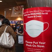 États-Unis: les personnes vaccinées doivent remettre le masque dans les zones à risque