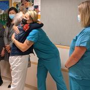 À 96 ans, la plus ancienne infirmière des États-Unis prend sa retraite
