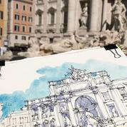 Apprendre à dessiner ses vacances : on a testé les cours de carnet de voyage en ligne