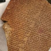 Les États-Unis annoncent la restitution à l'Irak d'une tablette volée vieille de 3500 ans