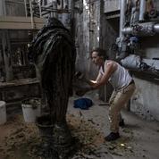 Sculpter le savon de Marseille en déesse grecque du remède, un art adapté au temps du Covid
