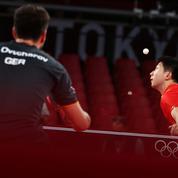 JO : le point hallucinant en tennis de table entre Ma Long et Ovtcharov en vidéo