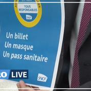 La SNCF propose des contrôles aléatoires pour vérifier le passe sanitaire