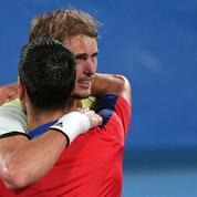 JO : Zverev «s'excuse» d'avoir brisé le rêve de Djokovic
