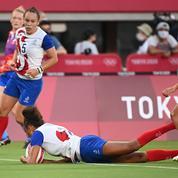 JO, Rugby à VII (F) : Les Françaises décrochent la médaille d'argent après leur défaite face à la Nouvelle-Zélande