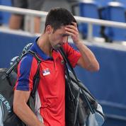 Battu pour la médaille de bronze, les JO de Djokovic tournent au fiasco