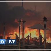 Italie: 800 départs de feu en fin de semaine