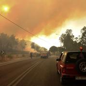 Le sud de l'Europe ravagé par les flammes