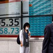 La Bourse de Tokyo finit en baisse, le Covid-19 a de nouveau pesé