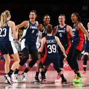 JO : au bout du suspense, les Bleues du basket écartent l'Espagne et filent en demies