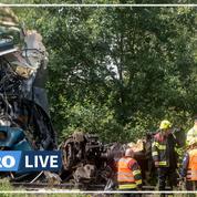 Accident de train en République tchèque : trois morts, des dizaines de blessés